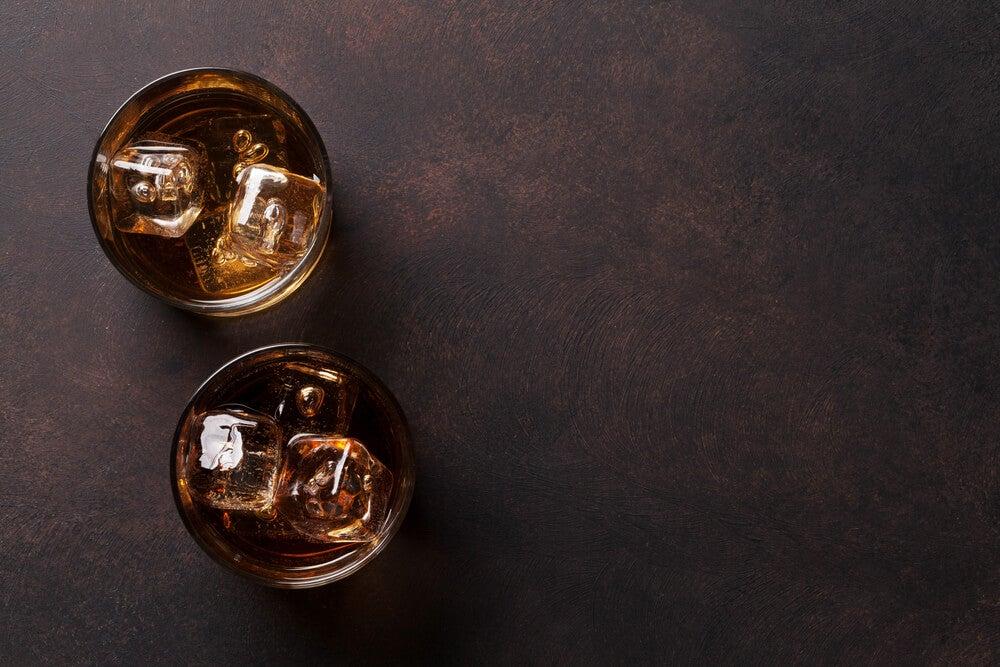 alcohol copas whiskey whisky