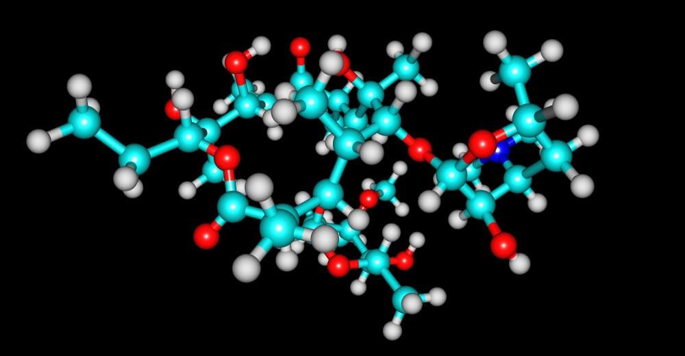 macrólido eritromicina antibiótico
