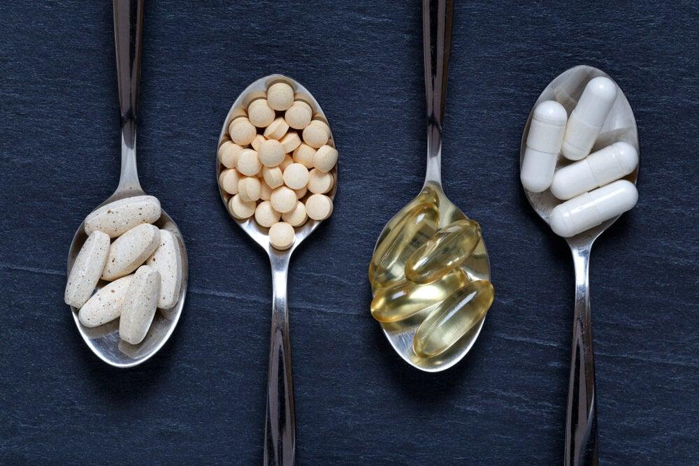 suplementos vitamínicos vitaminas minerales