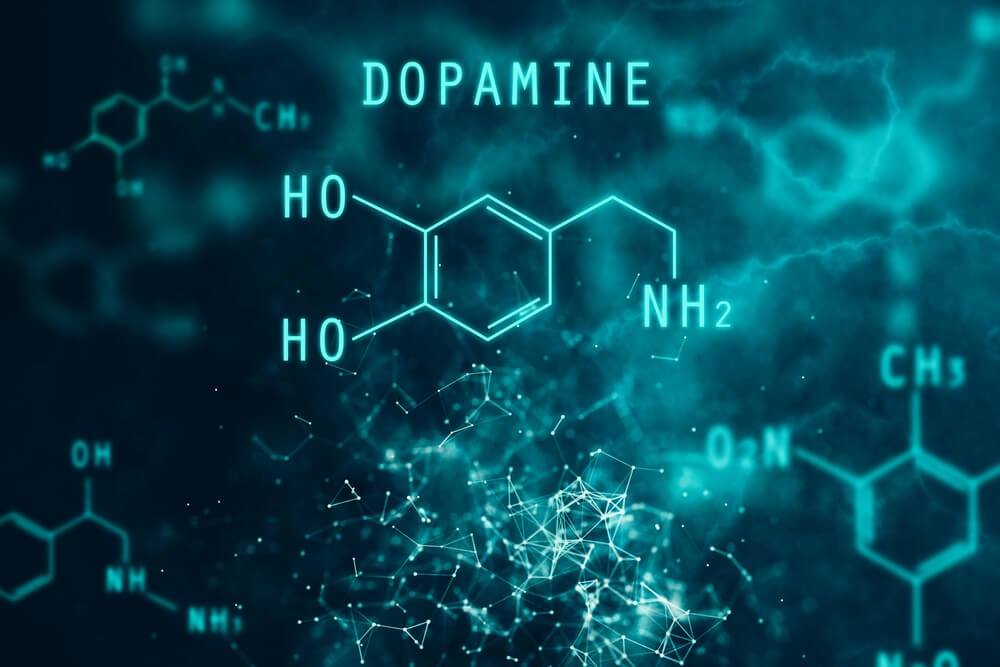 dopamina neurotransmisor fórmula