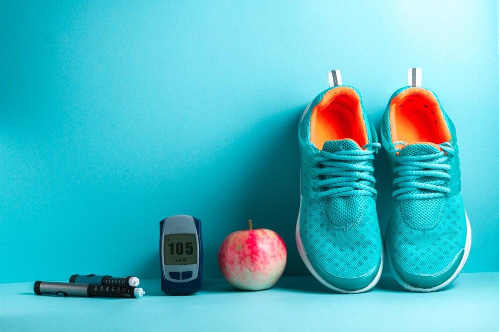 ejercicio físico dieta equilibrada glucosa glucemia