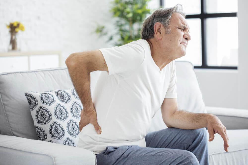 Dolor lumbar en la espalda