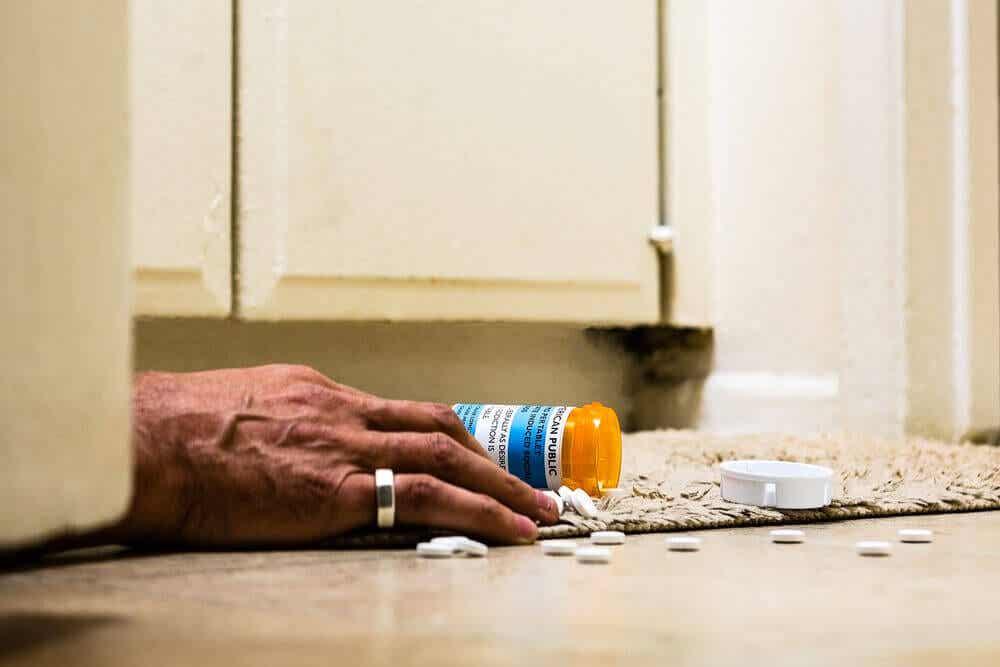 Adicción a los opioides.