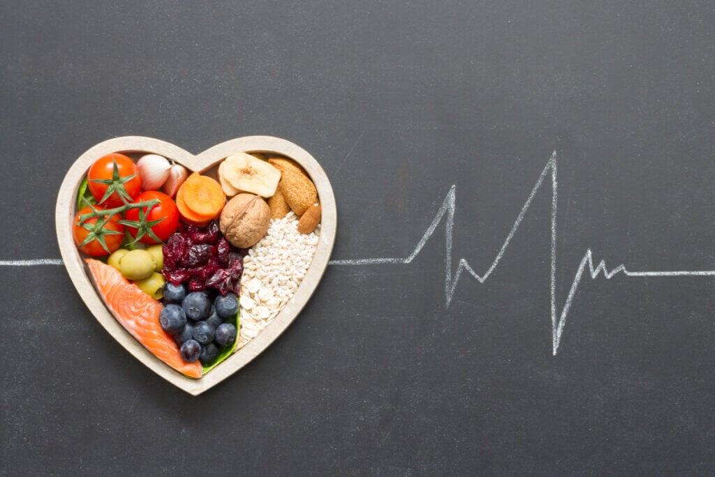 Dieta para la salud cardiovascular.