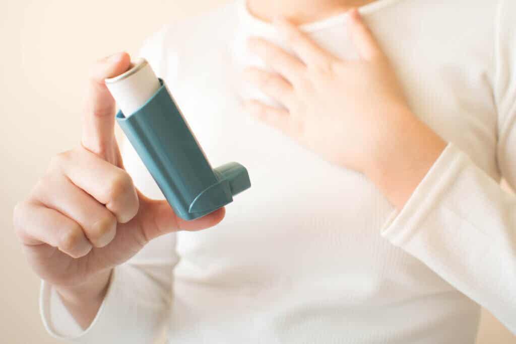 Inhaladores para el tratamiento del asma.