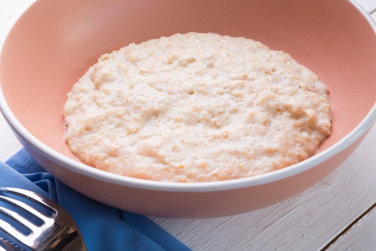Porridge de avena para adelgazar.