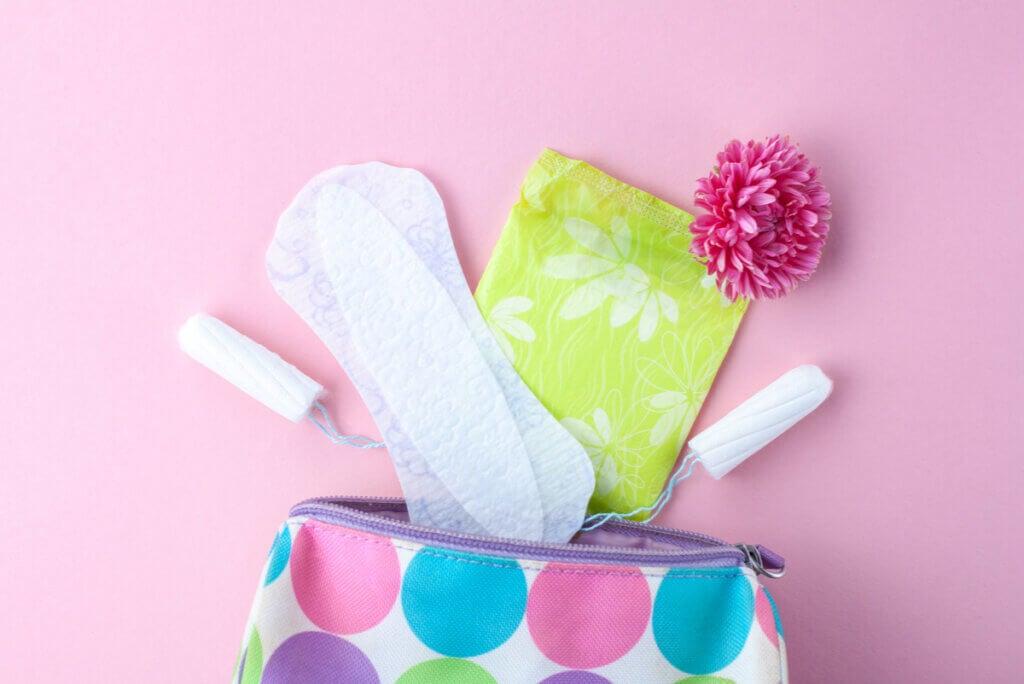 Productos para la higiene íntima.