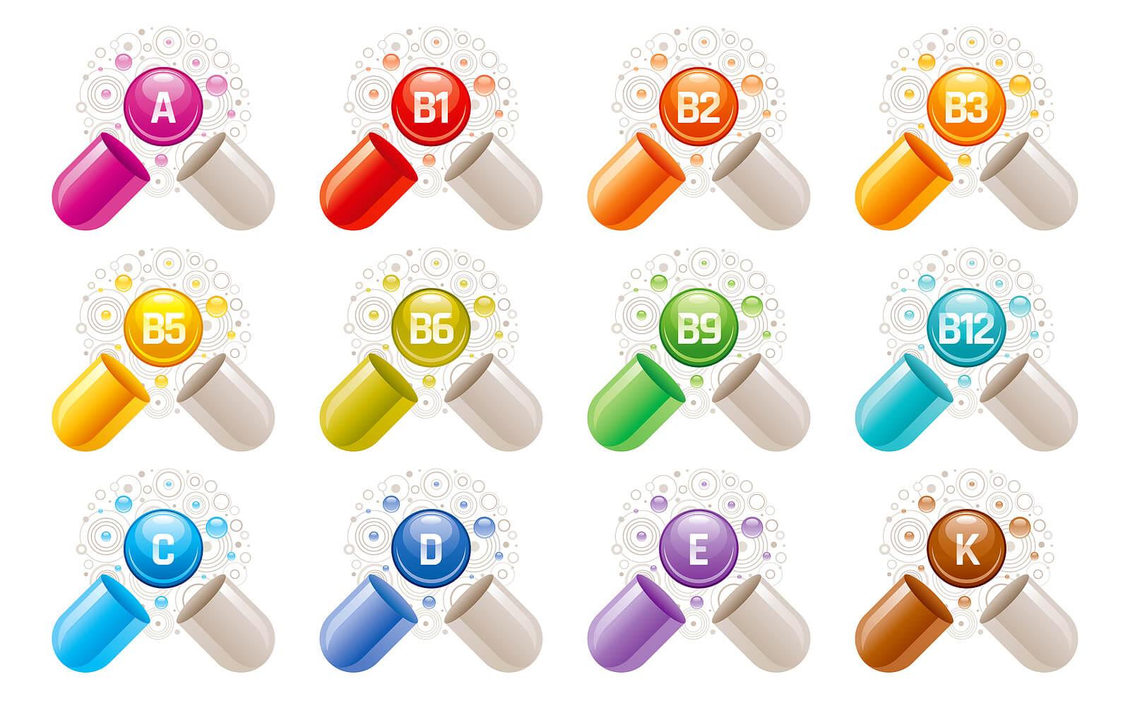 Las vitaminas son micronutrientes esenciales.