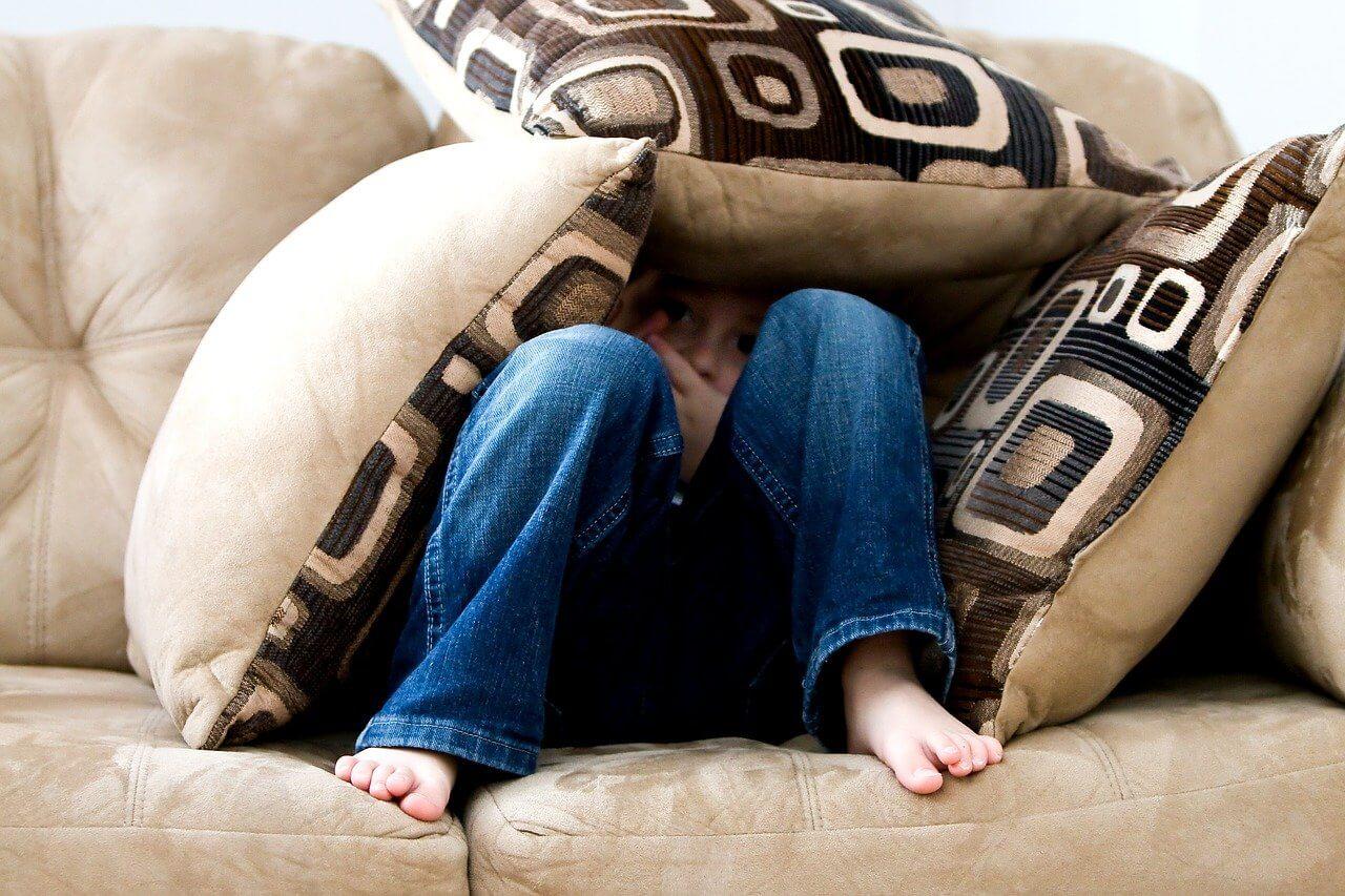 Fobia como forma de ansiedad infantil.
