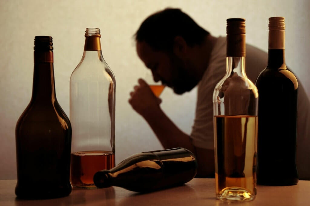 Man-alcoholic-and-pyridoxine-deficiency.