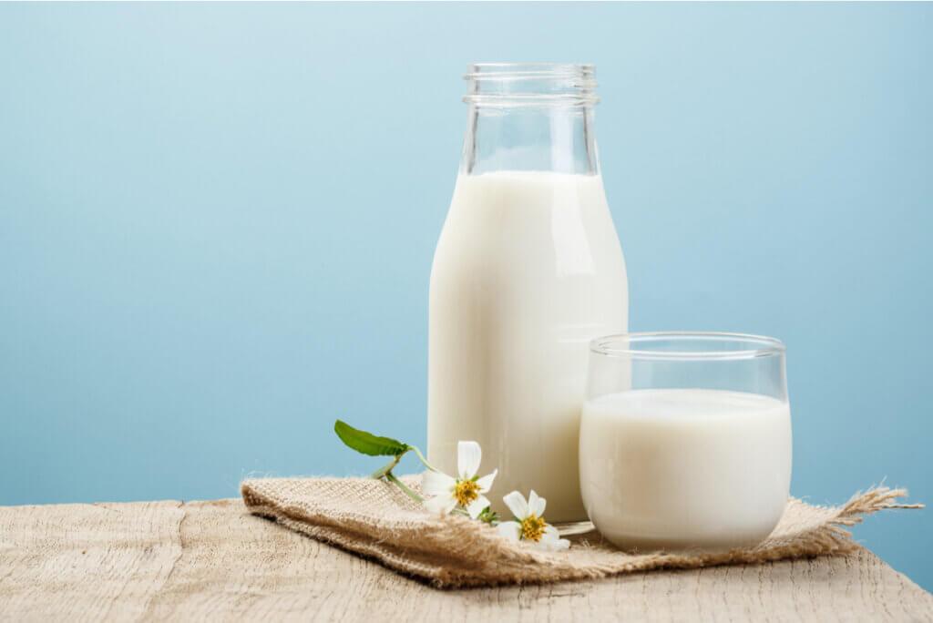 Lácteos con lactosa.