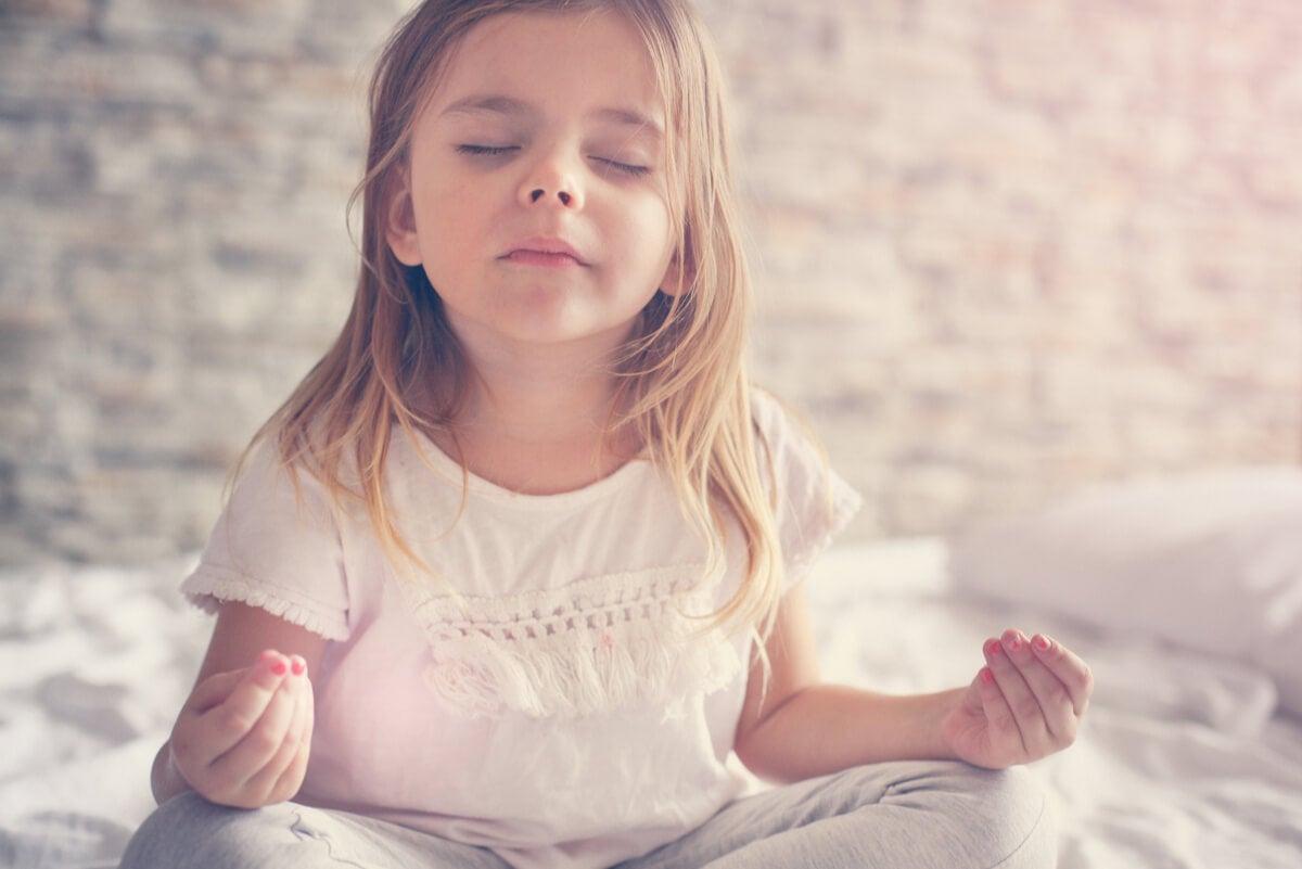 Mindfulness en niños para la felicidad.