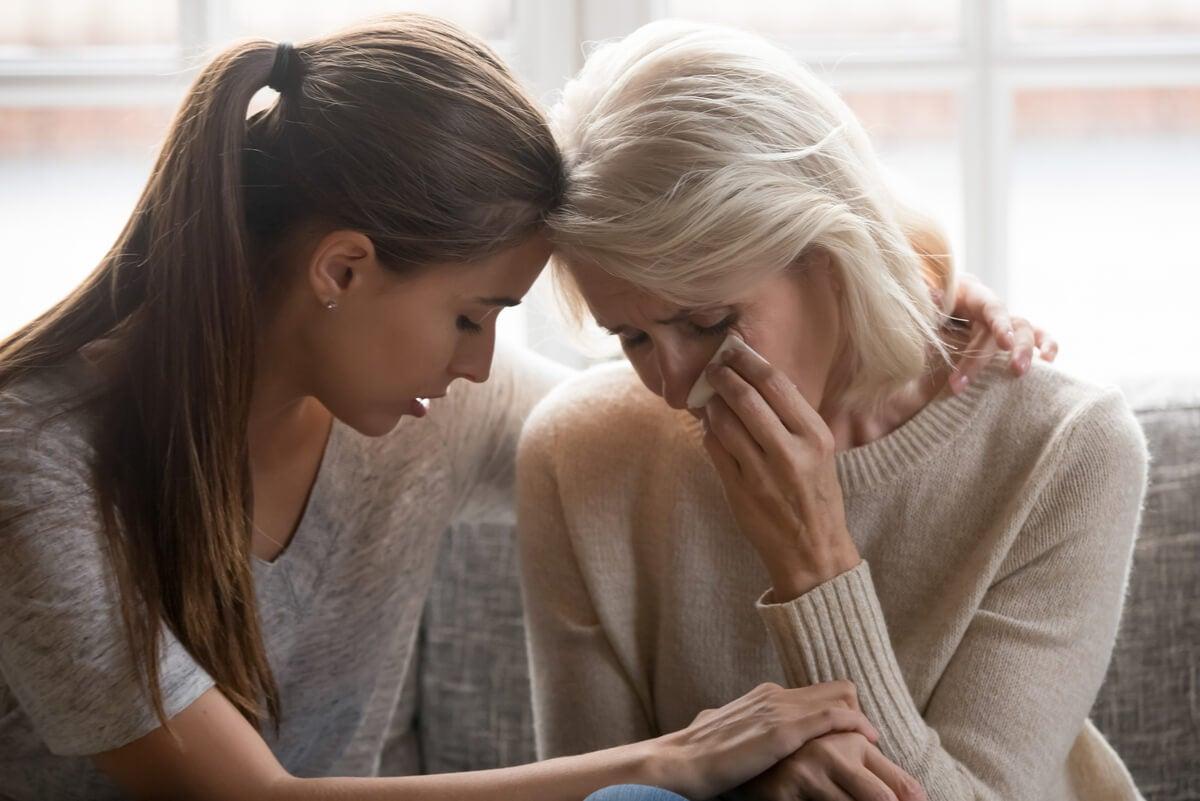 Empatía emocional entre mujeres.