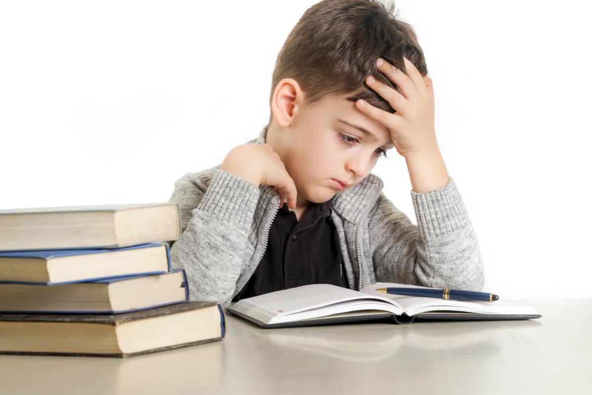 Problemas de lectura en la dislexia.