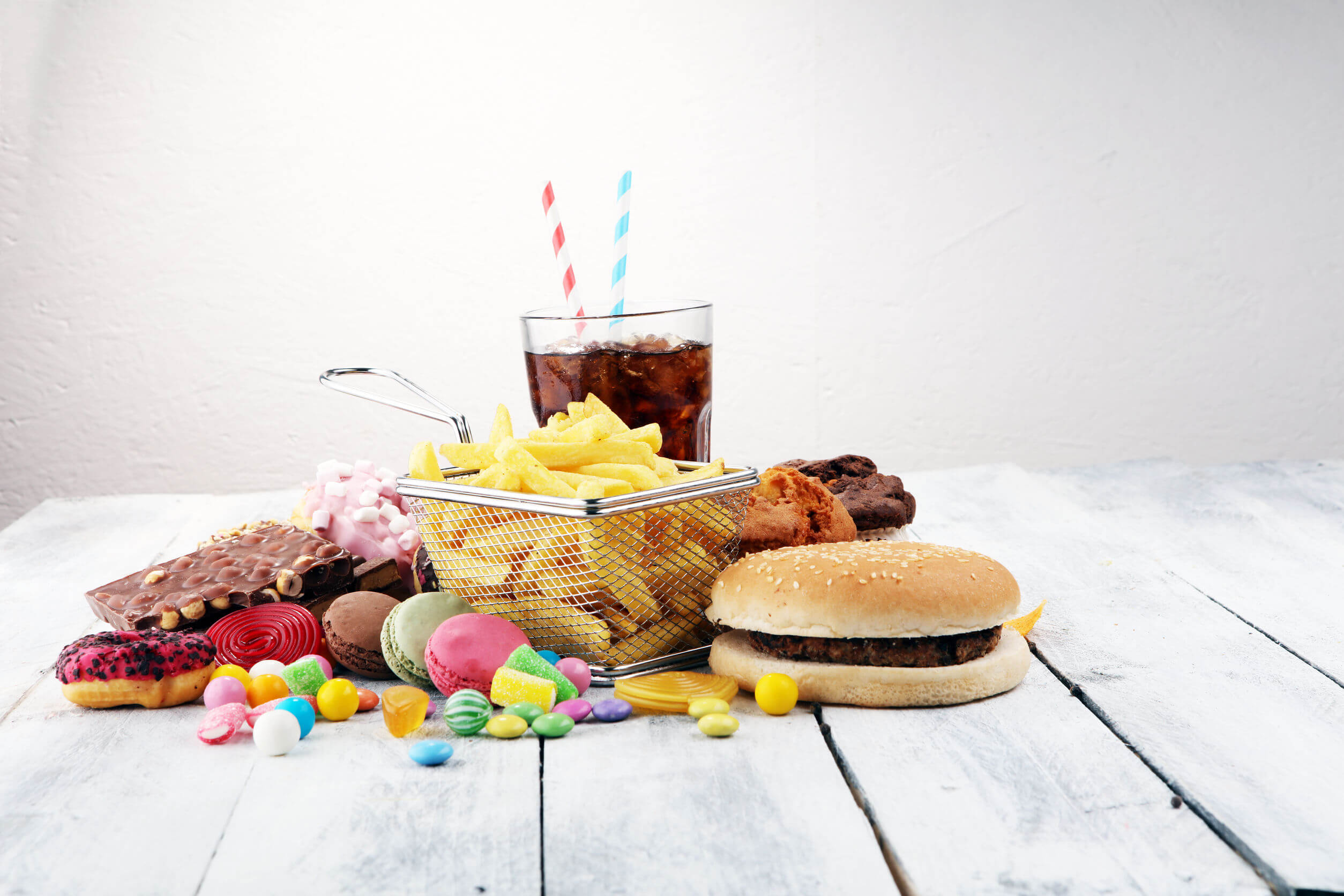 Body recomposition involves setting aside certain eating habits.