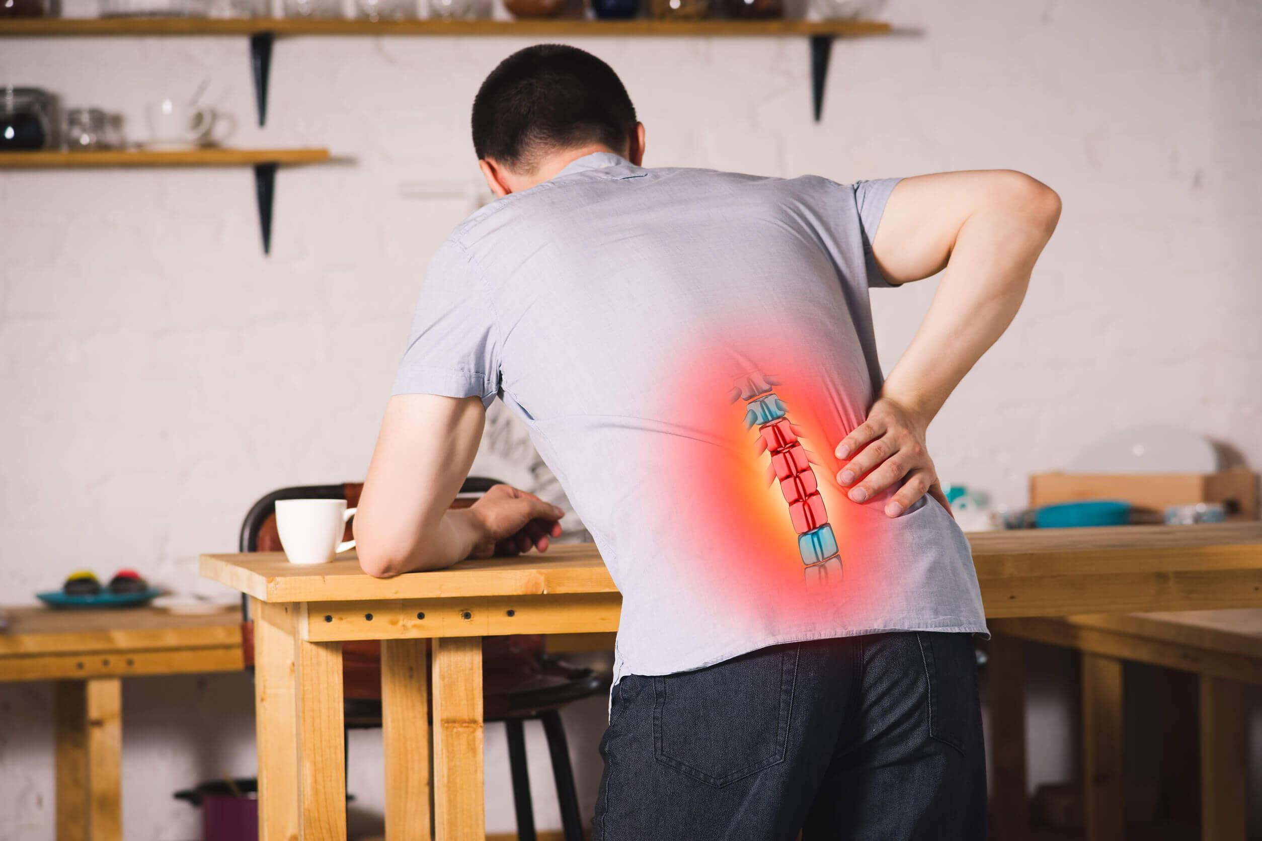A presença de nociceptores nas meninges torna possível sentir dor em doenças como a hérnia de disco.