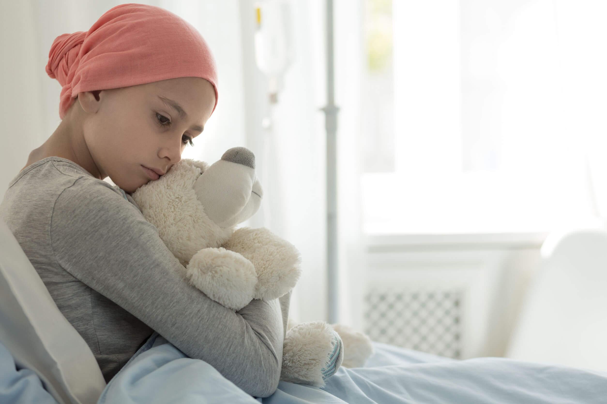 La leucemia no suele ser tan grave en los niños.