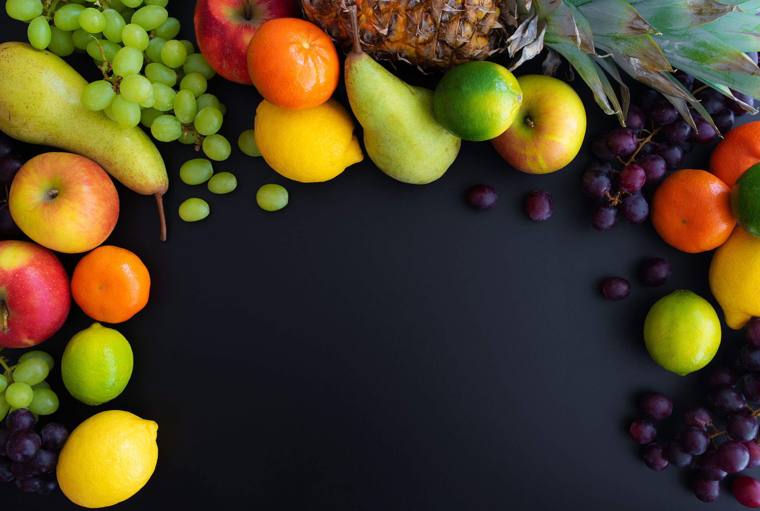 Fruits can be part of a balanced diet.