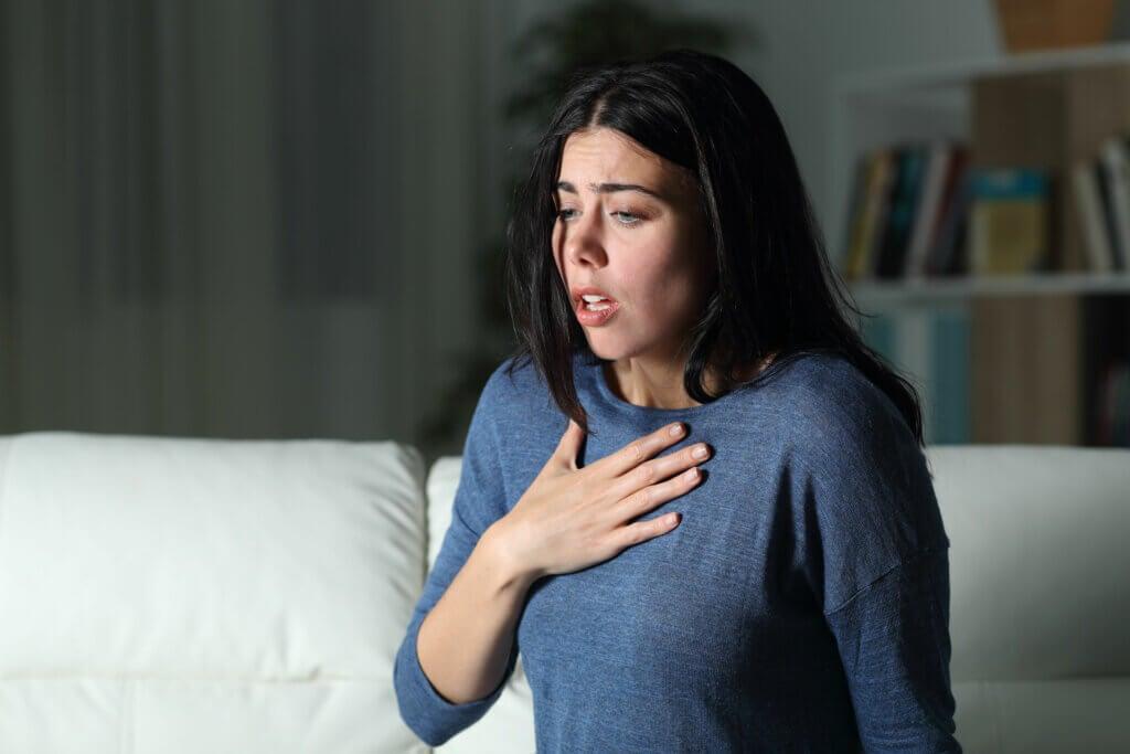 Taquicardia por consumir escopolamina.
