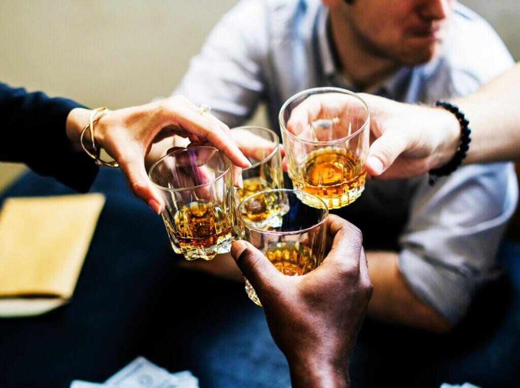 Os efeitos do álcool no cérebro