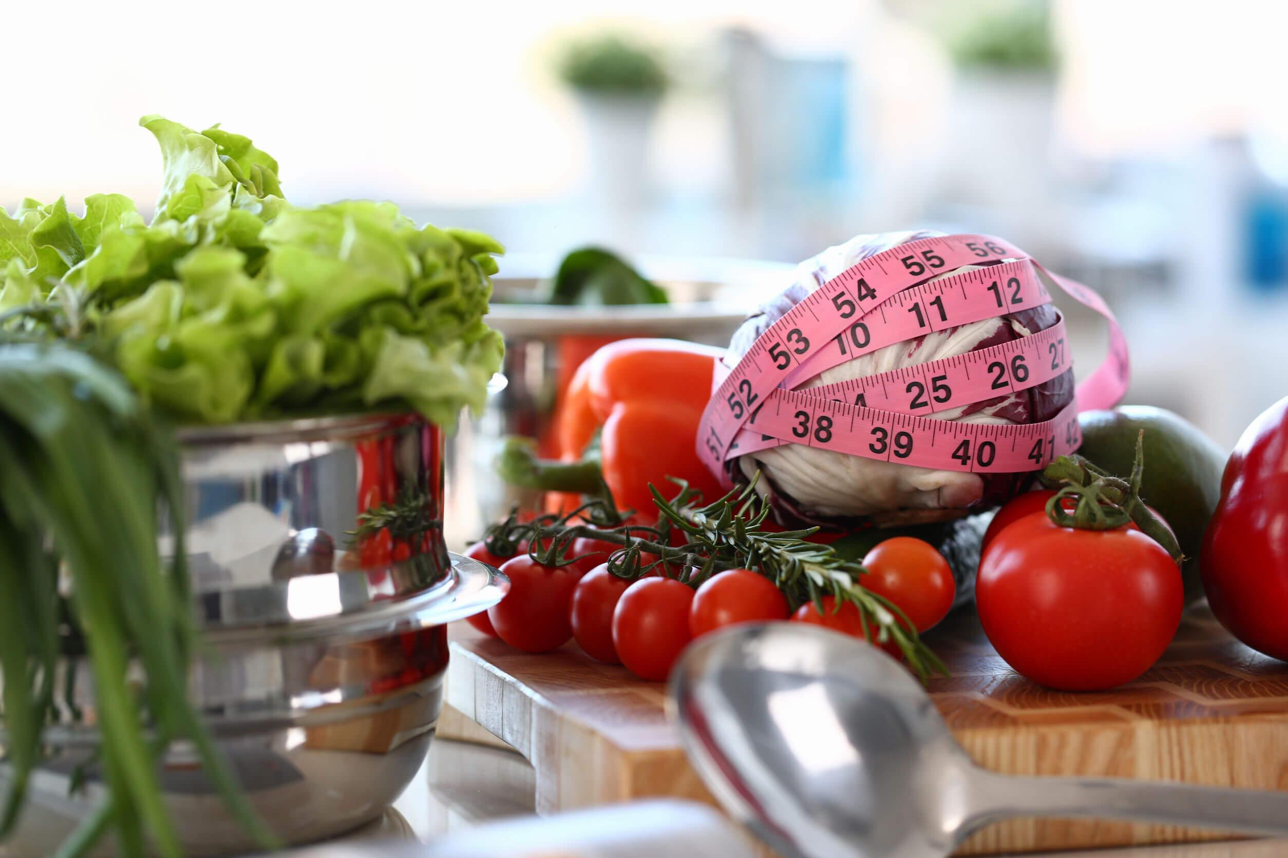 Una cena saludable incluye vegetales