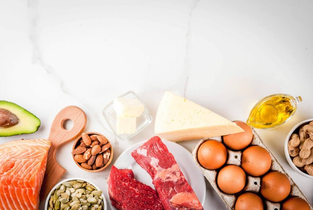 Alimentos frescos para prevenir la obesidad.