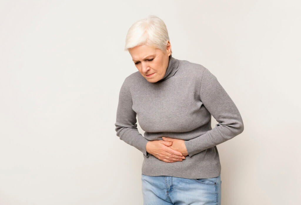 Dolor abdominal por insensibilidad al gluten.