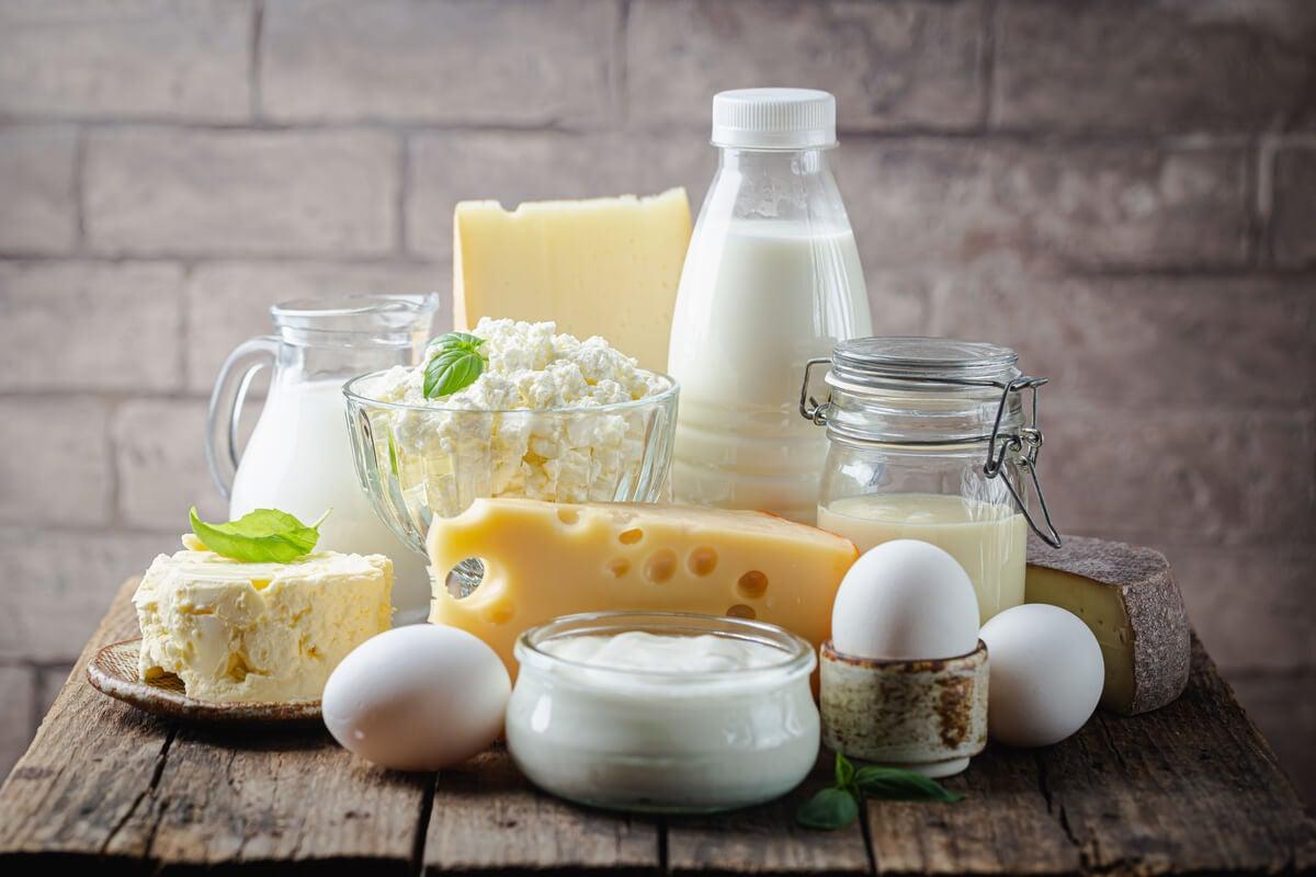 Los mitos sobre nutrición incluyen los efectos de los lácteos.