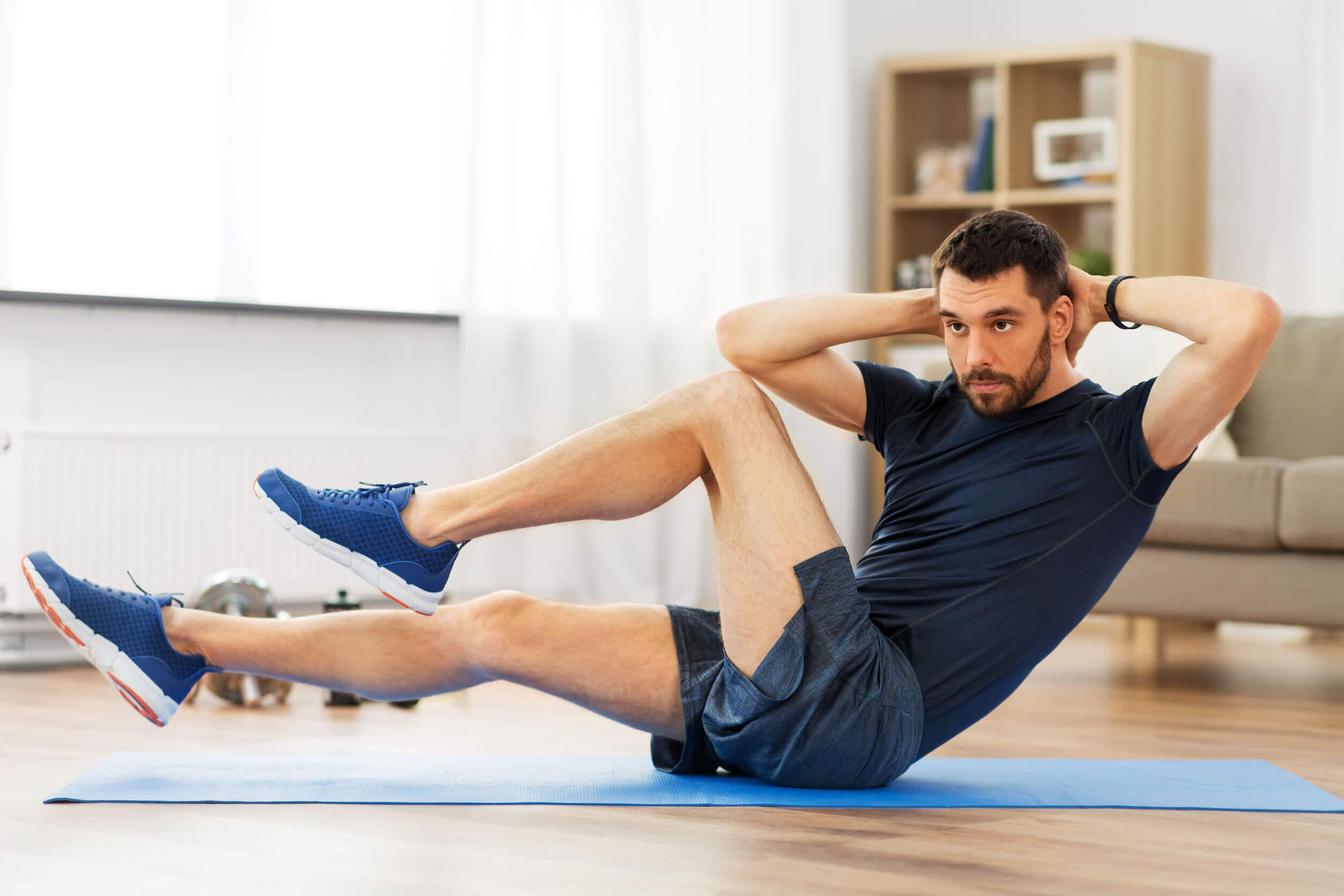 La dieta antiinflamatoria puede complementarse con deporte.