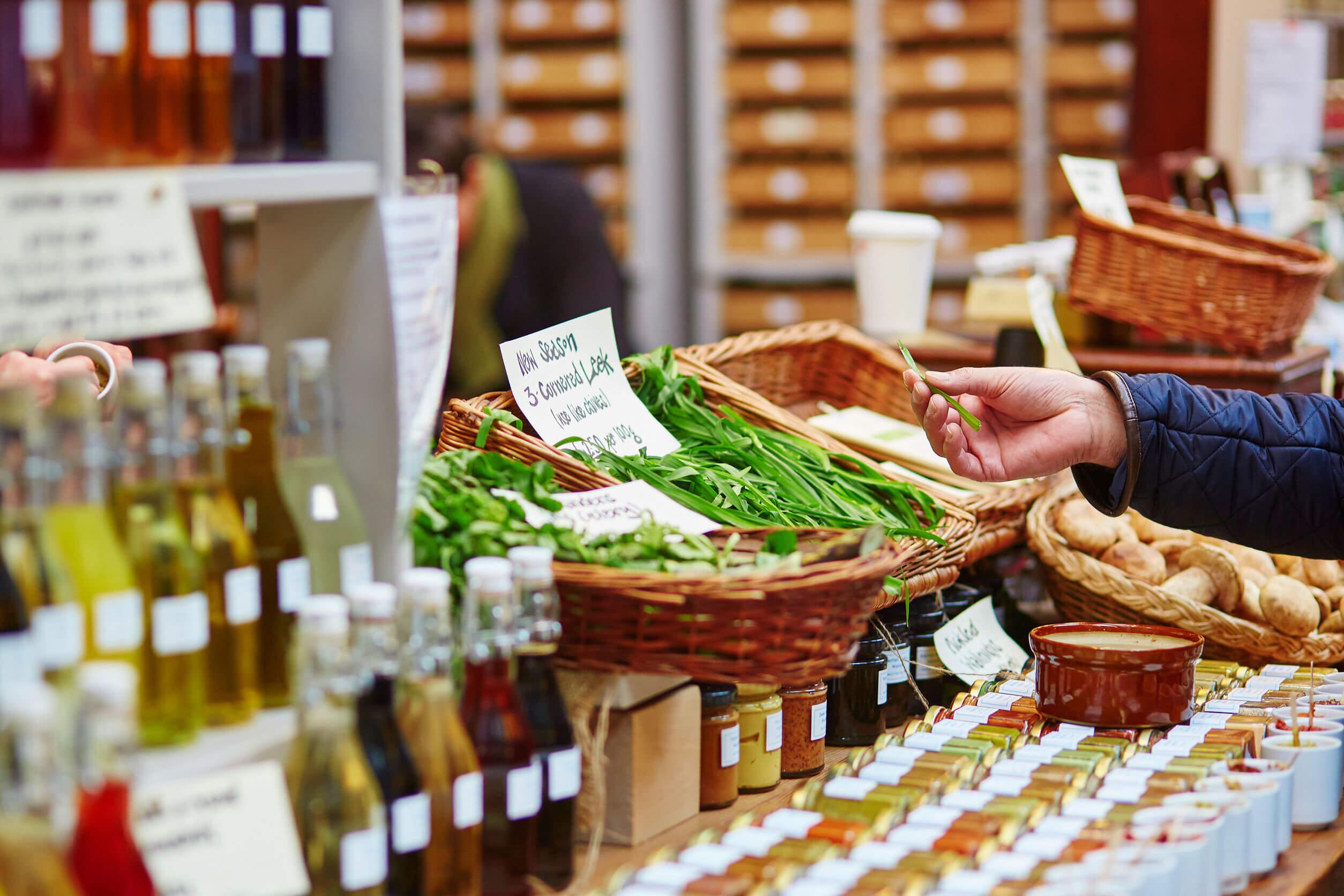 Los alimentos ecológicos se adquieren de forma fácil.
