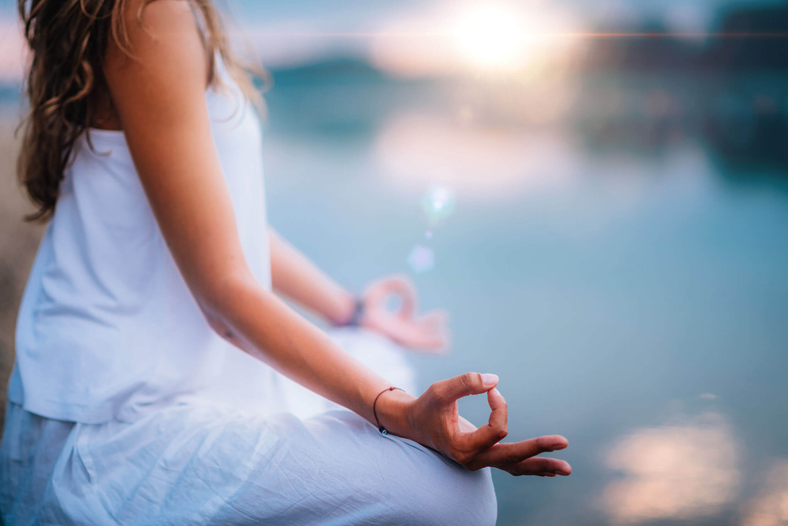 As técnicas de visualização estão relacionadas à meditação.