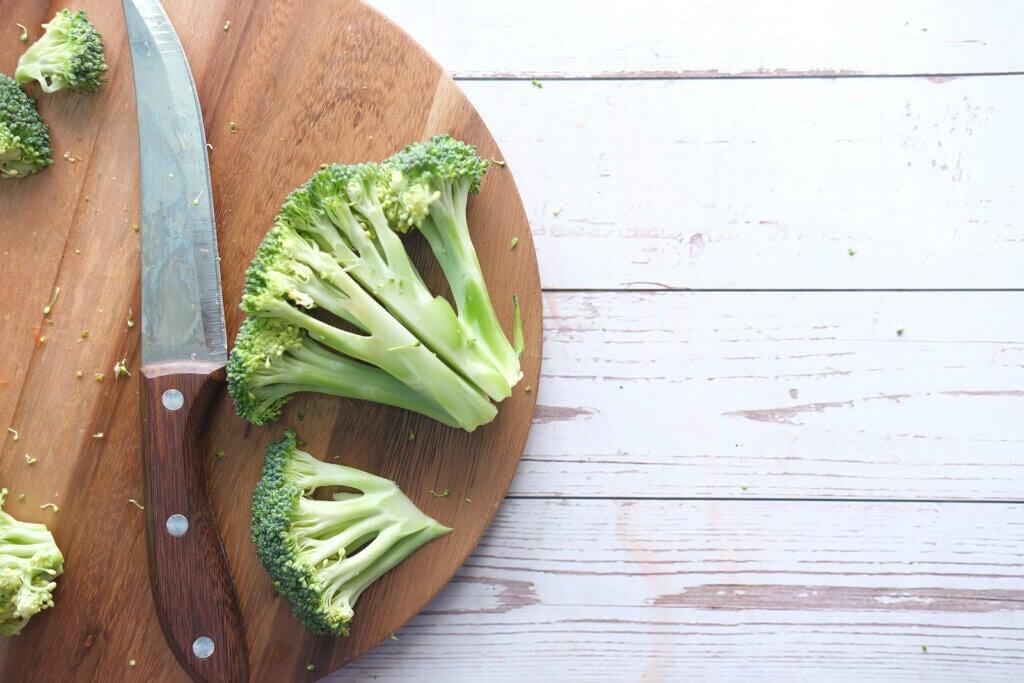 Brócoli con sulforafano.