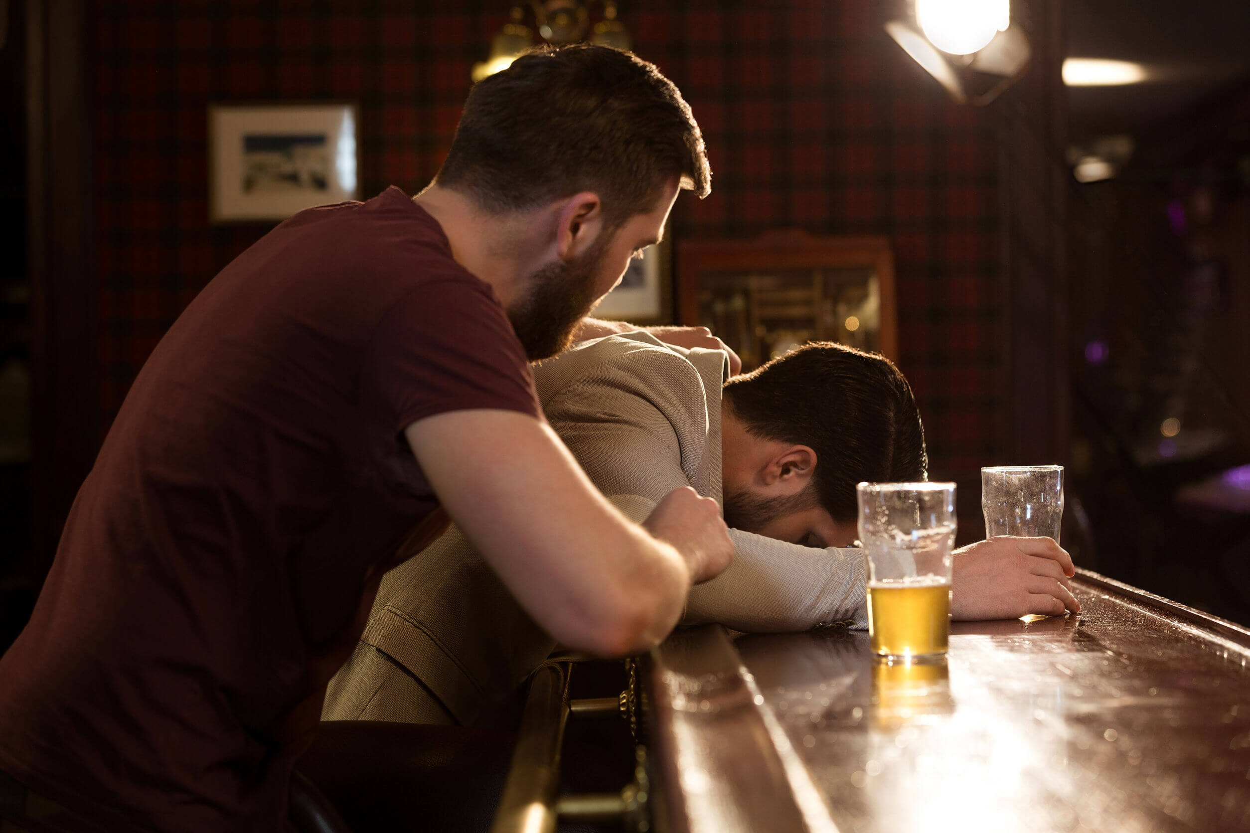 A amnésia alcoólica pode ser perigosa.