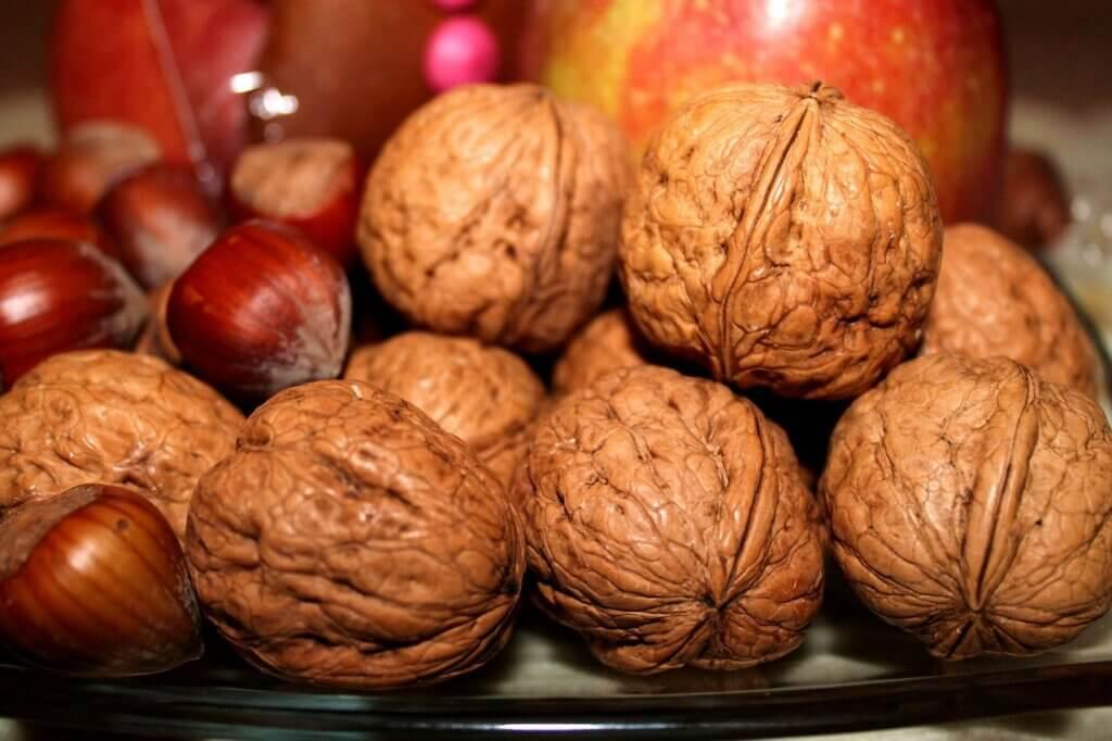 Fruto secos para la hipertensión.