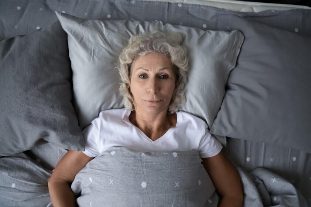 Insomnio en la menopausia.