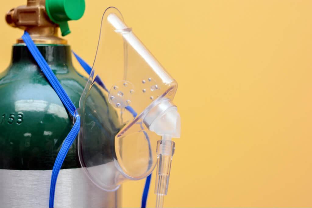 Oxigenoterapia en los síntomas de la enfermedad pulmonar obstructiva crónica.