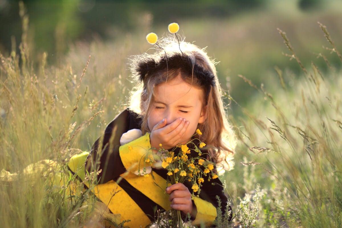 Las alergias estacionales en niños son comunes
