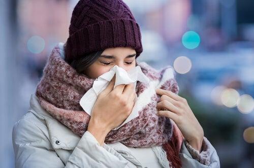 I primi sintomi dell'influenza
