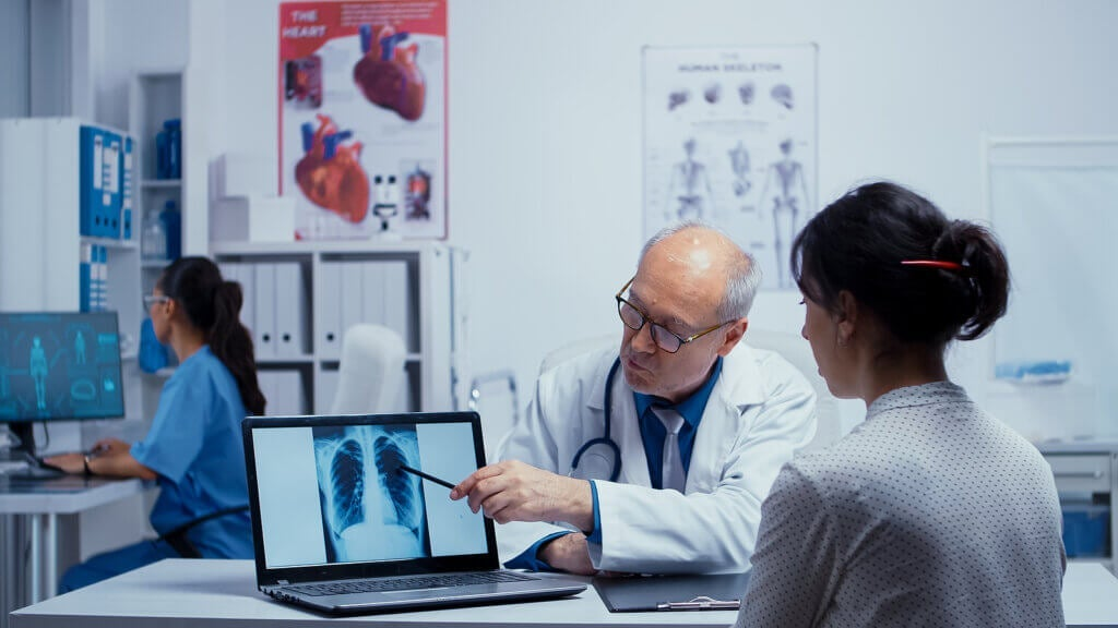 Trattamento della polmonite
