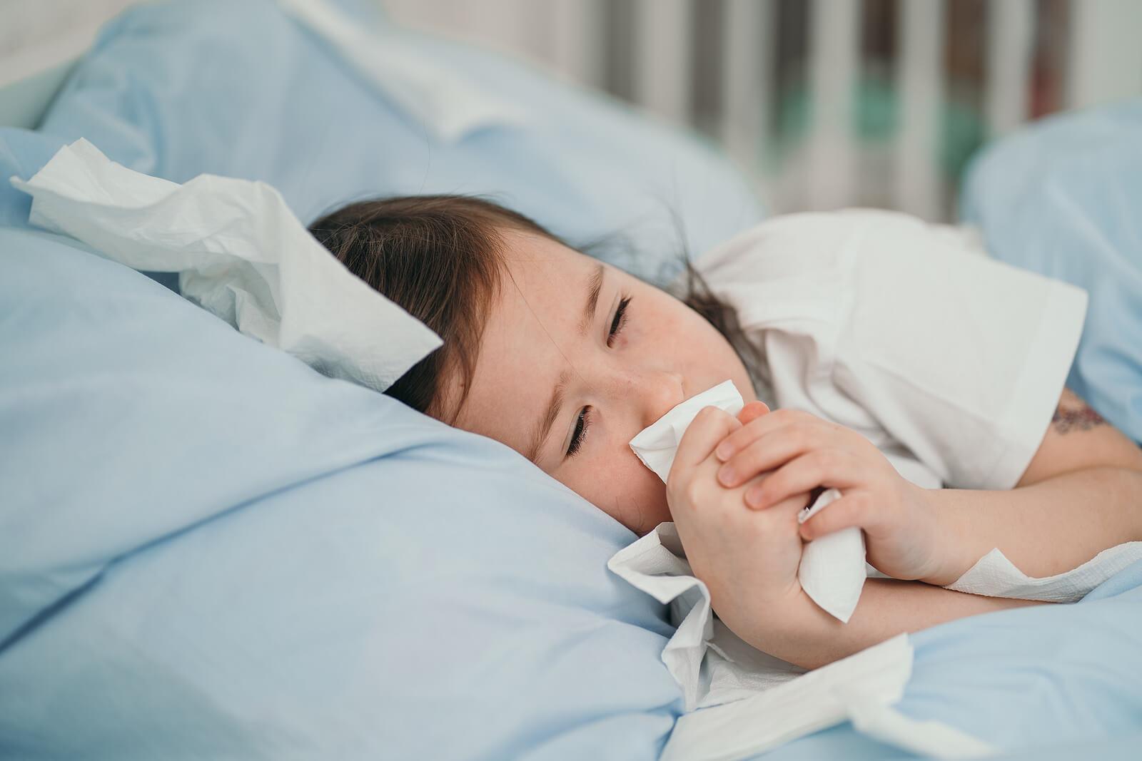 La neumonía en niños es común