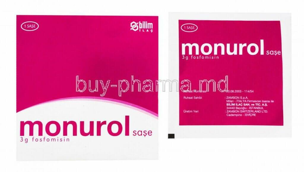 Monurol: traitement des infections urinaires