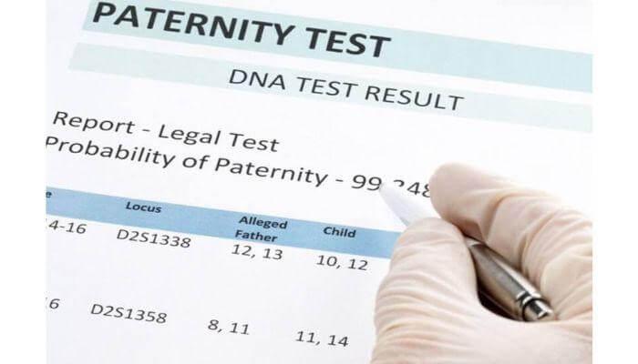 Comment établit-on un test de paternité?