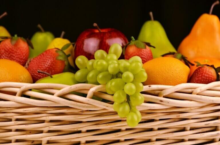 Los 5 tipos de fruta y sus características