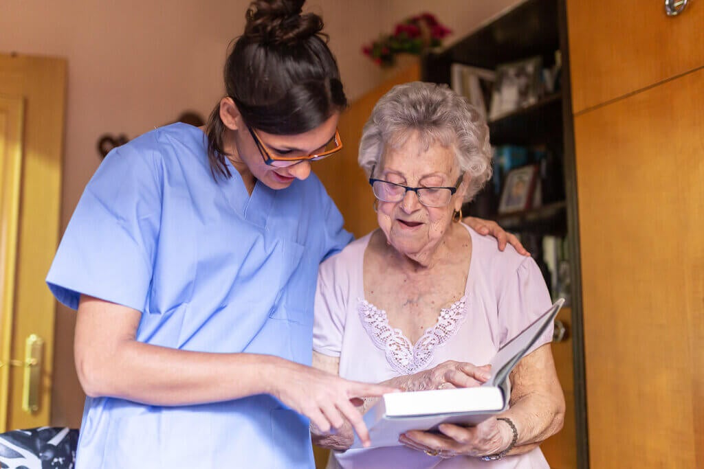 Cuidar a una persona con enfermedad de Parkinson