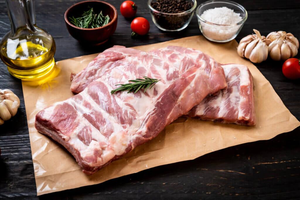 Carne de cerdo.
